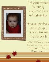 My Son,