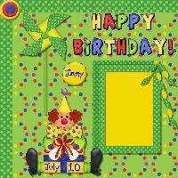 Happy 1st Birthday Jimmy! #1,#2,#3