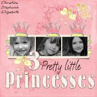 3 pretty princesses