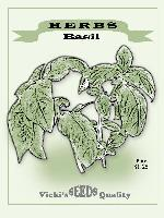 Seed Packet - Basil