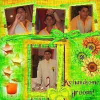 My handsome groom