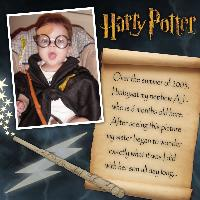 AJ as Harry