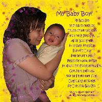 My Baby Boy - Matthew & Mommy