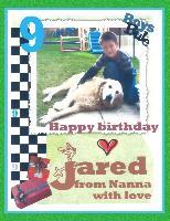 HAPPY BIRTHDAY JARED