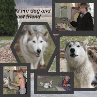 Nikki our dog