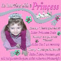 An Interview with a Princess