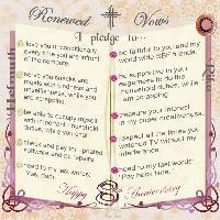 Renwed Vows