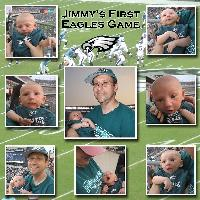 Jimmy's First Eagles Game