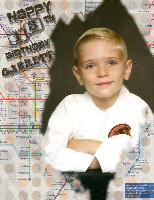 Happy 13th  Birthday Garrett