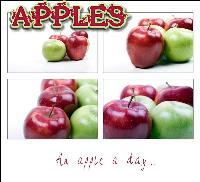 Apples Collage