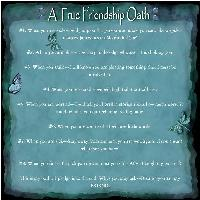 A True Friendship Oath