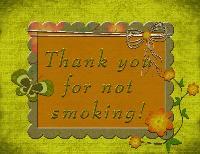 No smoking sign Challenge