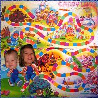 Isabella & Gavin in Candy Land