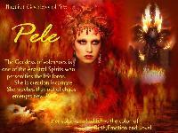 Hawaiian Goddess of Fire