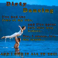Dirty Dancing Challenge