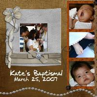 Kate's Baptismal