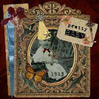 pretty baby shadowbox