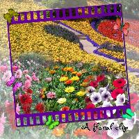 Floral Clip