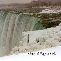 Winter At Niagara Fall