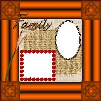 Family Fall Quick Page
