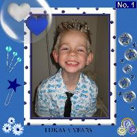Lukas 5 years old