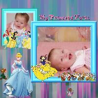 princess faith...disney princess's around