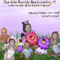 Bea's bday invite