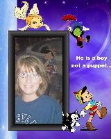 a puppet boy