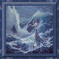 Lady Of The Stormy Ocean...