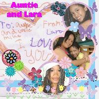 auntie and lara