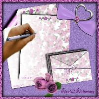 My Rose Stationary