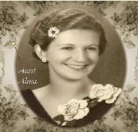 Beautiful Aunt Alma (Vintage Challange)
