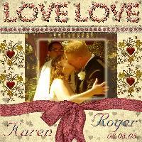 Challenge Karen and Roger Wedding 2