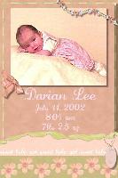 Birth Announcement 2