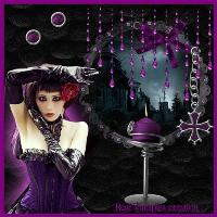 Goth purple
