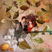Fall/Autumn Wedding Anniversaries