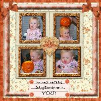 Taylor and the BIG pumpkin
