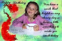 Happy 10th birthday chloe