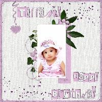 Tiffany 2nd birthday and Jeremy's 7th birthday