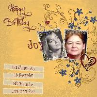 Happy Birthday Momma Joy