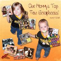 Mommy's Top Ten Scrapbooks