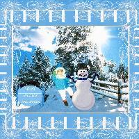 Heidi And The Snowman