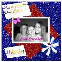 My glitter girls