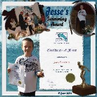 Jesse's Swim School Awards on 10 June 2006