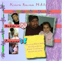 Kiara and Daddy