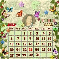 2009 calendar challenge