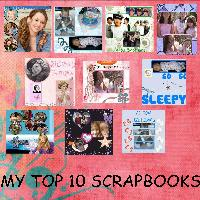 my top 10 scrapbooks