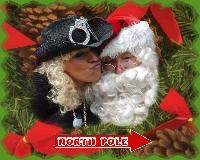 yick mommy kissing Dog claus LOL