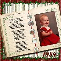 Megan's First Christmas