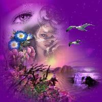 Purple-Fantasy Art